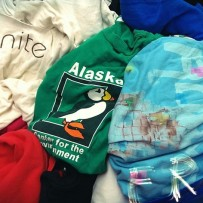 T-shirts into Tote bags @ the Urbana Market